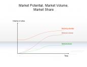 Market Potential, Market Volume, Market Share