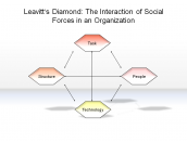 Leavitt's Diamond: The Interaction of Social Forces in an Organization