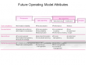 Future Operating Model Attributes
