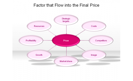 Factor that Flow into the Final Price