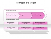 The Stages of a Merger