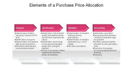 Elements of a Purchase Price Allocation