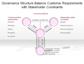 Governance Structure Balance Customer Requirements with Stakeholder Constraints