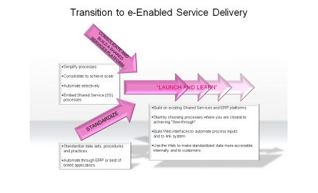 Transition to e-Enabled Service Delivery