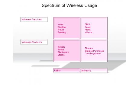 Spectrum of Wireless Usage