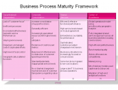 Business Process Maturity Framework