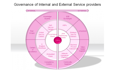 Governance of Internal and External Service providers