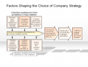 Factors Shaping the Choice of Company Strategy