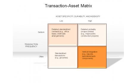 Transaction-Asset Matrix