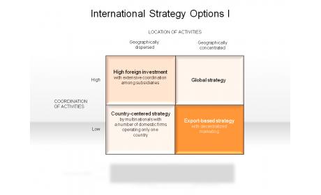 International Strategy Options I