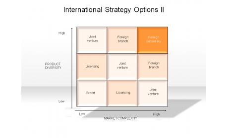 International Strategy Options II