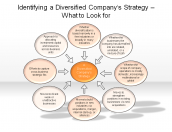 Identifying a Diversified Company's Strategy - What to Look for