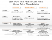 "Each ""Pure Tone"" Alliance Class Has a Unique Set of Characteristics"