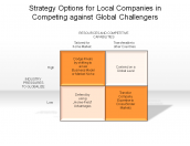 Strategy Options for Local Companies in Competing against Global Challengers