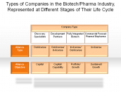Types of Companies in the Biotech/Pharma Industry