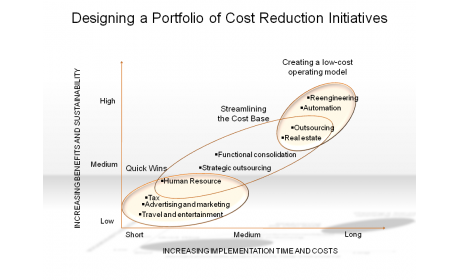 Designing a Portfolio of Cost Reduction Initiatives