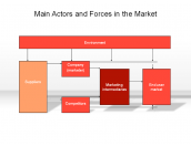 Main Actors and Forces in the Market
