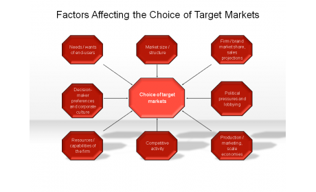 Factors Affecting the Choice of Target Markets