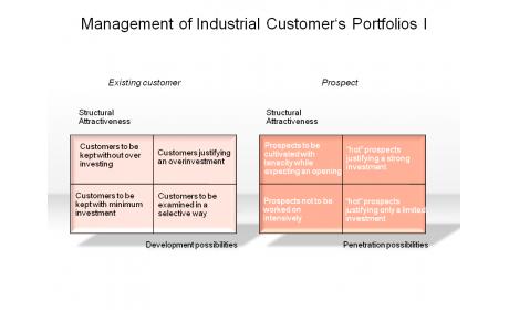 Management of Industrial Customer's Portfolios I
