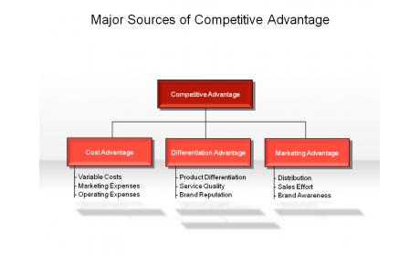 Major Sources of Competitive Advantage