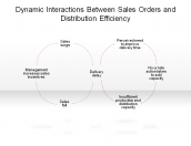 Dynamic Interactions Between Sales Orders and Distribution Efficiency