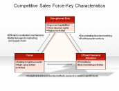 Competitive Sales Force-Key Characteristics
