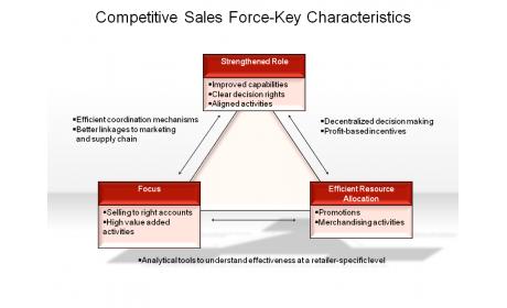 Competitive Sales Force-Key Characteristics