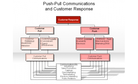 Push-Pull Communication and Customer Response