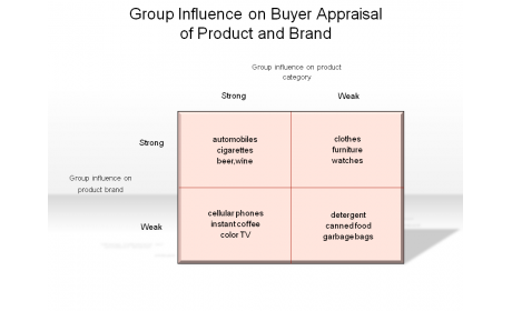 Group Influence on Buyer Appraisal of Product and Brand