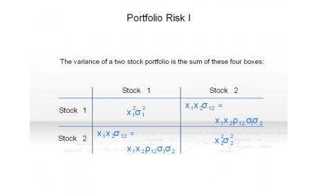 Portfolio Risk I