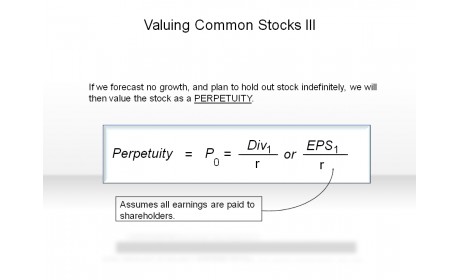 Valuing Common Stocks III