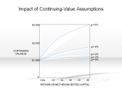 Impact of Continuing-Value Assumptions