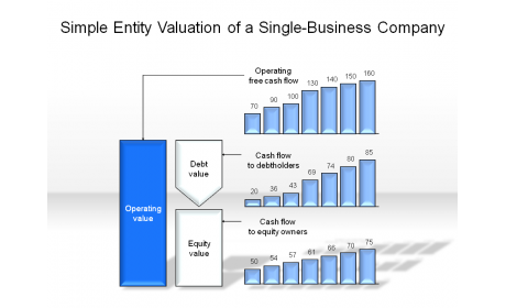 Simple Entity Valuation of a Single-Business Company