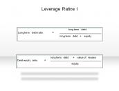 Leverage Ratios I