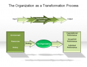 The Organization as a Transformation Process
