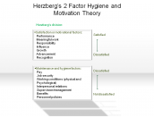 Herzberg's 2 Factor Hygiene and Motivation Theory