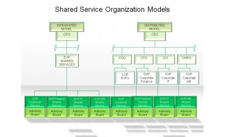 Shared Service Organization Models
