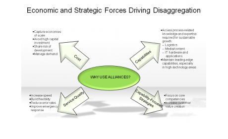 Economic and Strategic Forces Driving Disaggregation