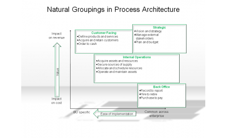 Natural Groupings in Process Architecture