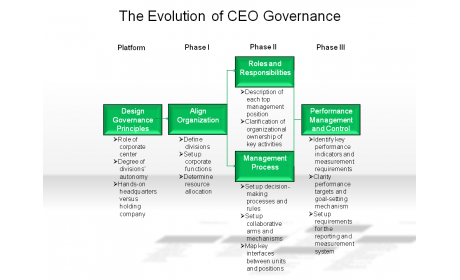 The Evolution of CEO Governance