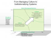 From Managing Culture to Institutionalizing Systems