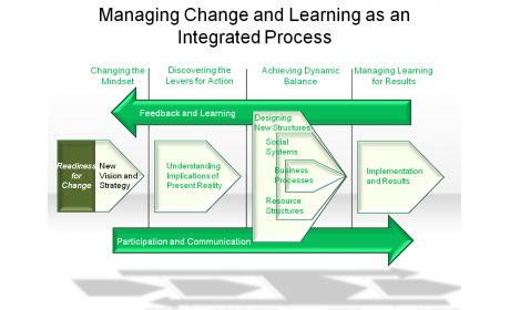 Managing Change and Learning as an Integrated Process