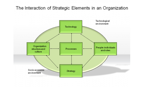 The Interaction of Strategic Elements in an Organization