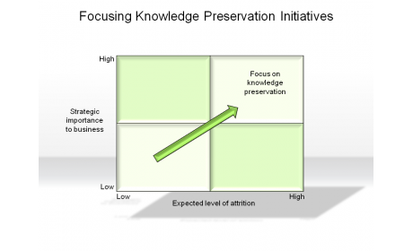 Focusing Knowledge Preservation Initiatives