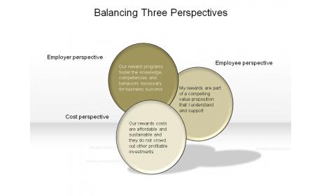 Balancing Three Perspectives