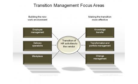 Transition Management Focus Areas