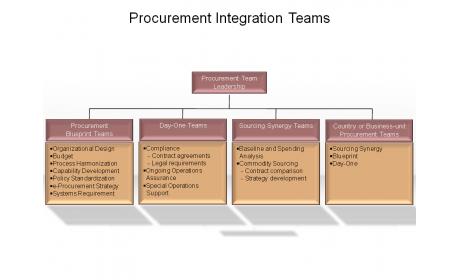 Procurement Integration Teams