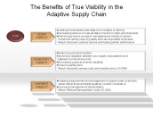The Benefits of True Visibility in the Adaptive Supply Chain