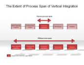 The Extent of Process Span of Vertical Integration