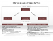 Internet-Enabled Opportunities